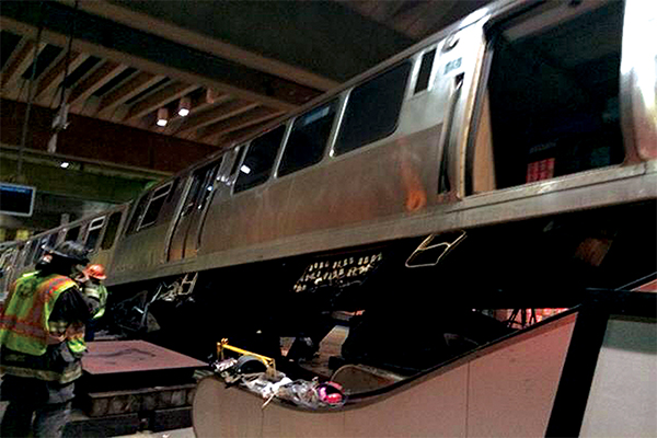 CTA Blue Line Train Crash at Ohare