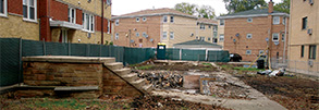 Old Jefferson Park Home torn down to make way for new 3 flat 7 apartment unit