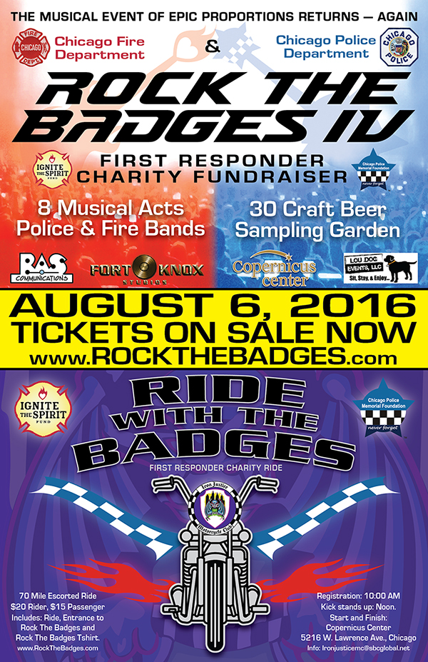 Rock the Badges - First Responder Charity Fundraiser Event