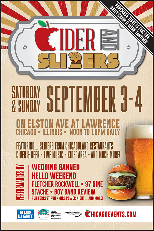 Cider and Sliders Fest on Chicago's Northwest Side