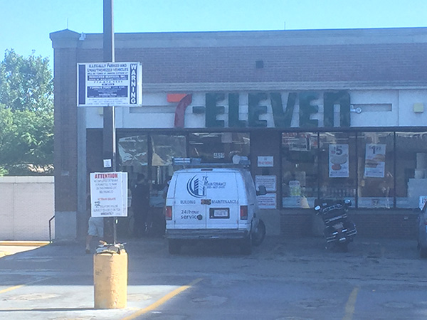 Hostage Situation at 7-11 store on Chicago's Northwest Side, Jefferson Park neighborhood.