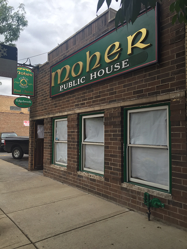 Moher Pub in Edgebrook to close its doors