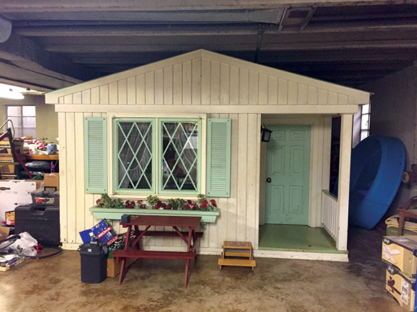 Life Size Playhouse was built in the basement of this Sauganash Home
