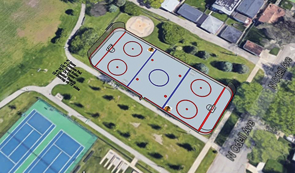 Brooks Park Roller rink installation scheduled