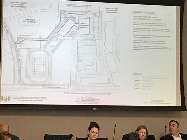 Hearing on likely Taft Freshman Academy on Dunning Site
